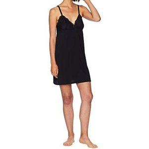 PJ Salvage black lace front chemise 1x & 3x